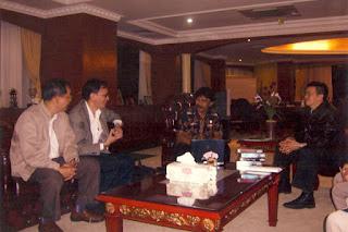 Sofian Tjandra Bersama Mantan Menteri Pemuda dan Olah Raga