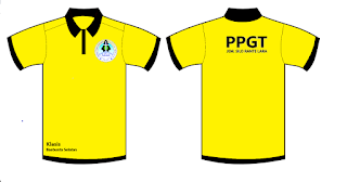 Desain baju PPGT terbaik dan keren