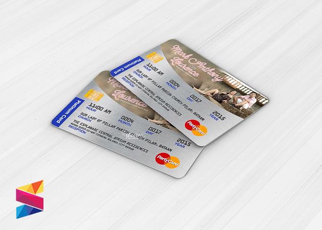 Mark lourence atm card type wedding invitation stunro creativeworks mark lourence atm card type wedding invitation stopboris Choice Image
