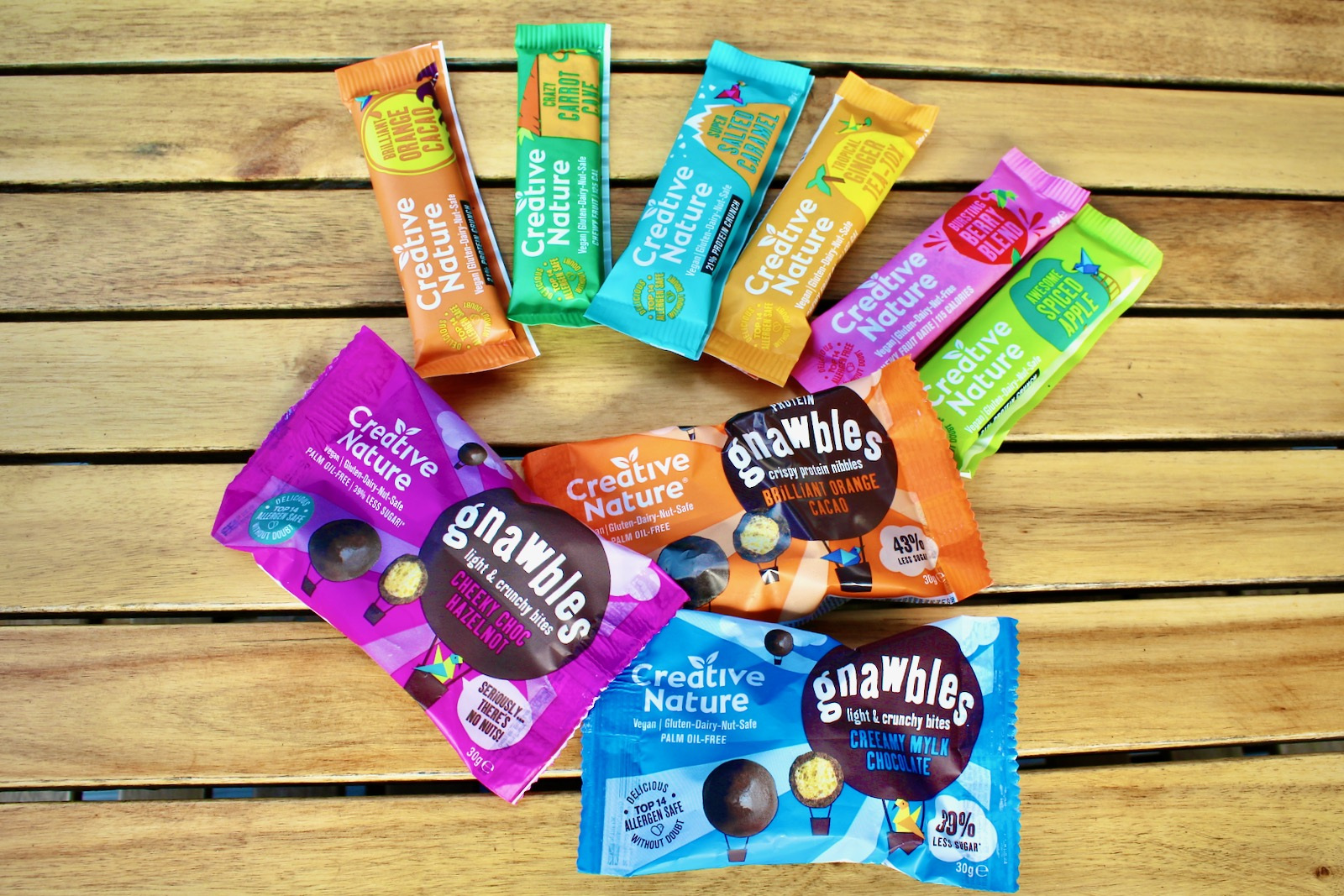 Nutrition Review – Creative Nature Energy Bars and Snacks