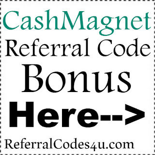 CashMagnet App Referral Code, CashMagnet App Invite Code & CashMagnet App Sign Up Bonus