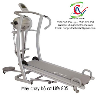 Máy chạy bộ cơ LIFE 805 giá rẻ