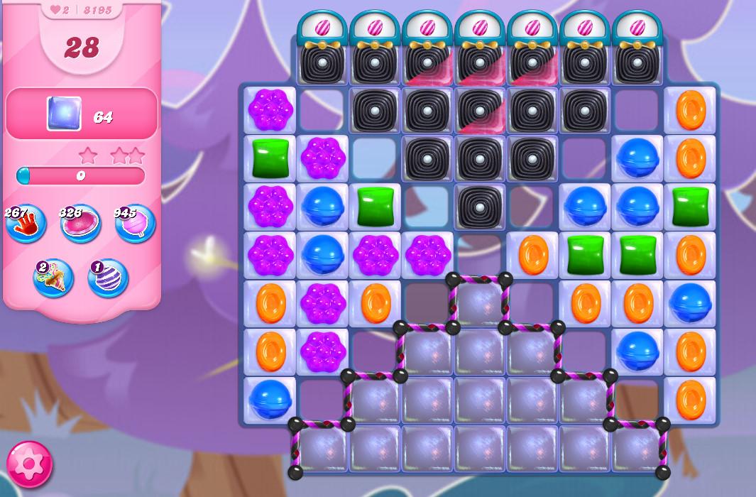 Candy Crush Saga level 8195