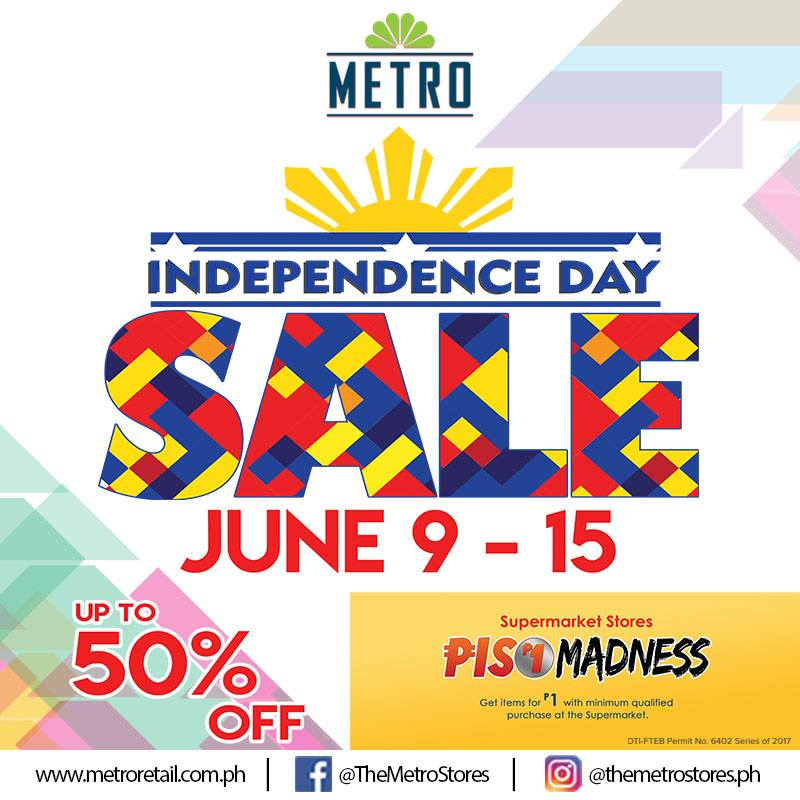 the latest 67561 0b53c Metro Stores Independence Day SALE 2017