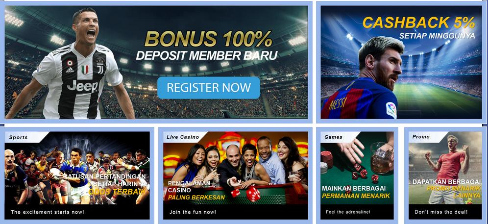Daftar Agen bandar Judi bola online Terpercaya Di Indonesia
