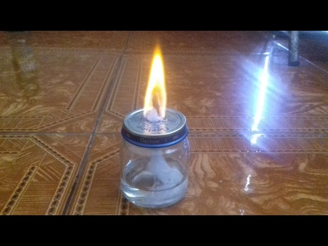 lampara de alcohol