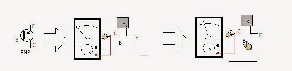 transistor sebagai saklar PNP