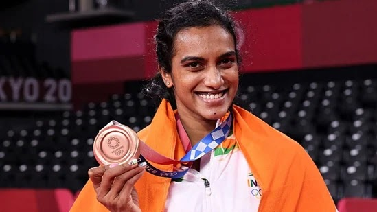 PV Sidhu creates history at Tokyo Olympics