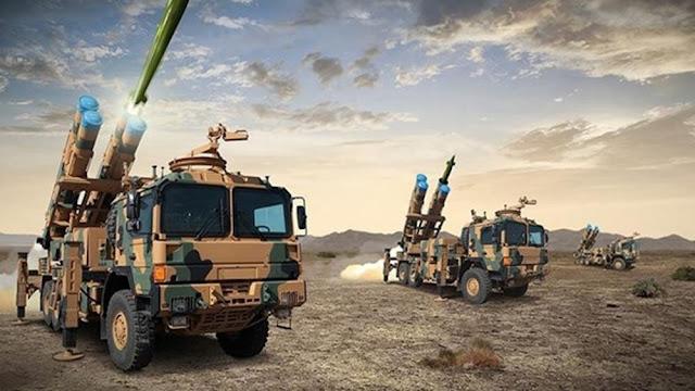 Η Τουρκία αναπτύσσει πυραυλικά συστήματα TRG-300 Tiger στα σύνορα με τη Συρία