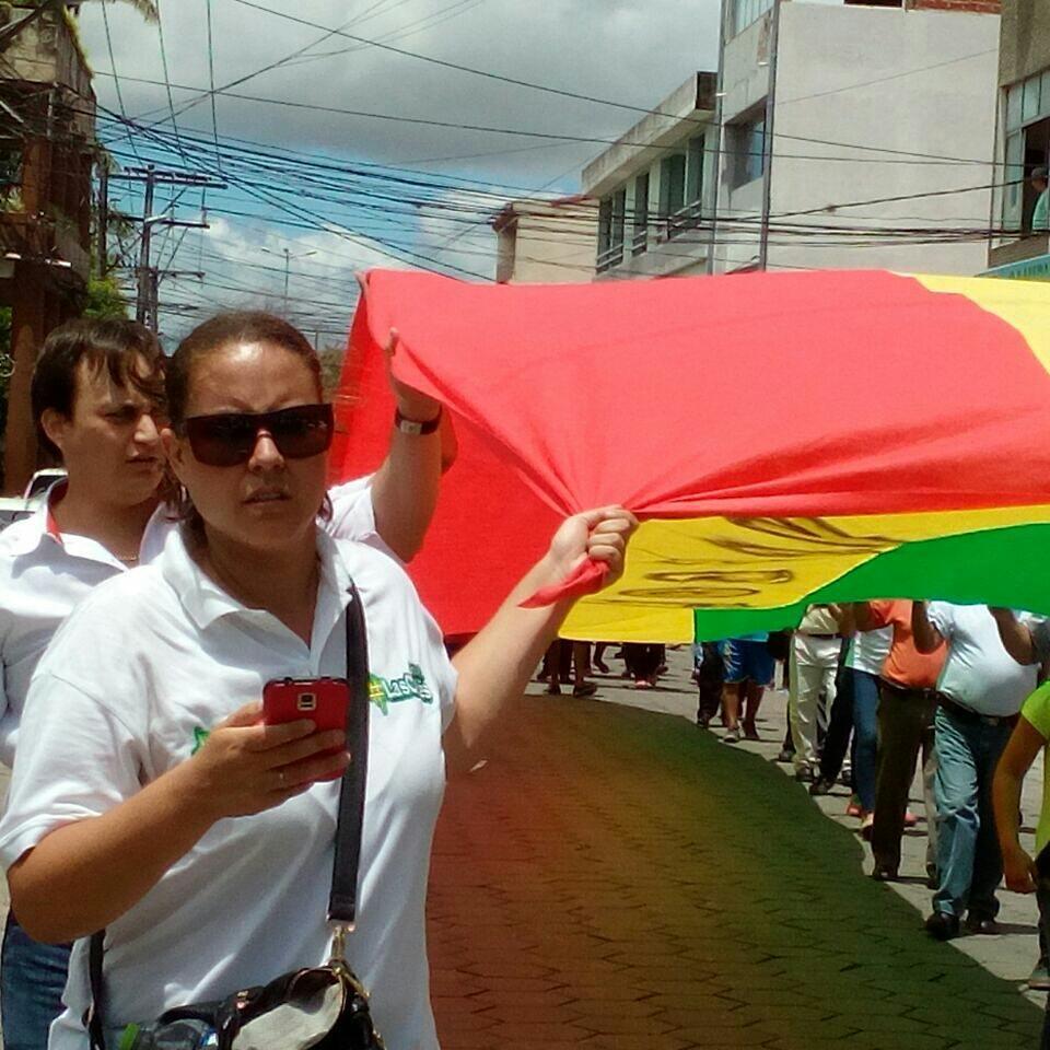 Las Calles Bolivia es parte de las plataformas que actúan con el lema Bolivia dijo No /