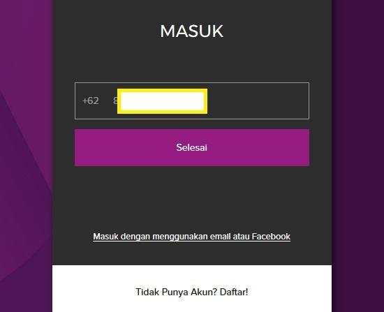 Cara Daftar Hooq Telkomsel 3