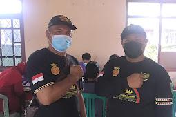 Bersama Anggota DPRD, Ketua PTC Sosialisasikan Himbauan Vaksinasi Aman dan Halal di Way Harong Tanggamus