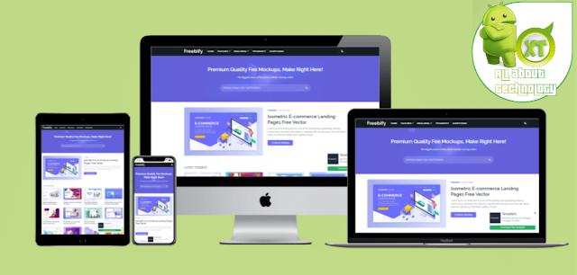 Download Freebify Premium Blogger Template Free