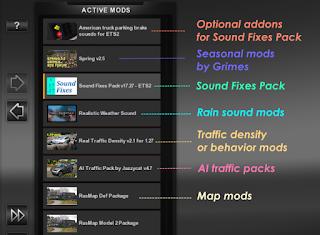 ets 2 sound fixes pack v18.19 screenshot 3
