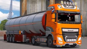 DAF XF Euro 6 Reworked v 1.6 mod by Schumi