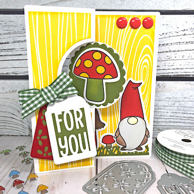 Lisa Mears Card Designs - The Stamps of Life April Card Kit - Card 10