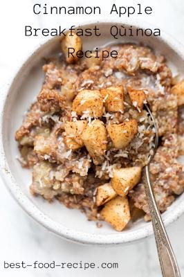 Cinnamon Apple Breakfast Qùinoa Recipe