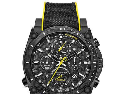 Bulova precisionist men's watch,72% off