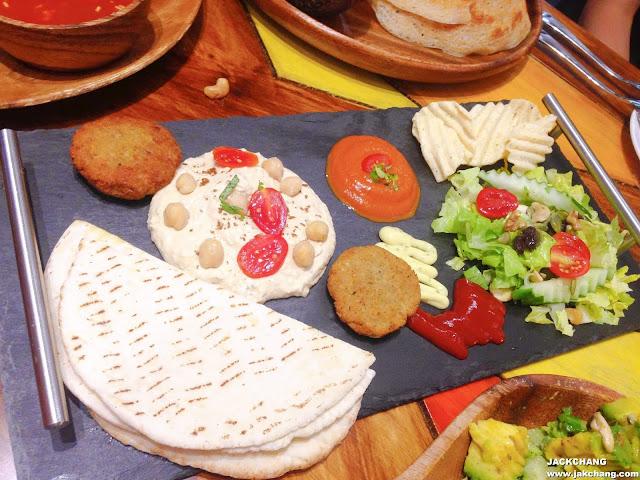 中東蔬菜拼盤