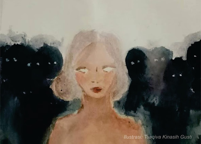 lukisan tsaqiva kinasih gusti