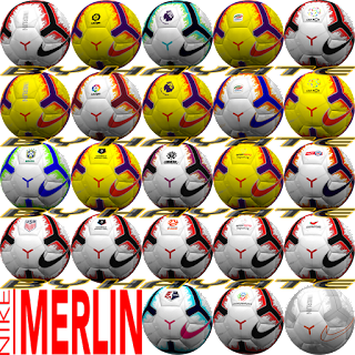 PES 6 Ballpack Nike Merlin Season 2018/2019 by Hayate