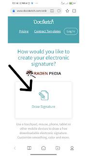 Cara Membuat Tanda Tangan Digital Gratis - www.radenpedia.com
