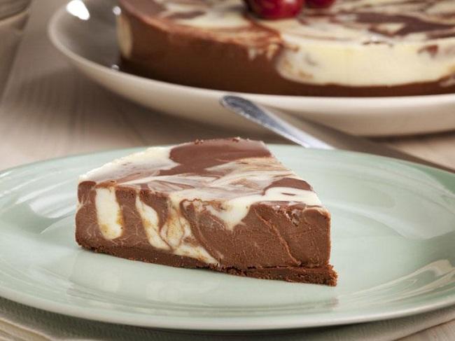Receta de Mousse Marmoleado de Chocolates