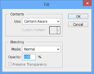 Menghilangkan Objek pada Gambar dengan Photoshop Content Aware