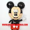 Balon Foil Karakter Mickey Mouse Jumbo