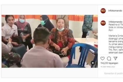 Martaria Simbolon, Siswi SMA Bengkulu yang Hina Palestina Lewat TikTok Kena DO