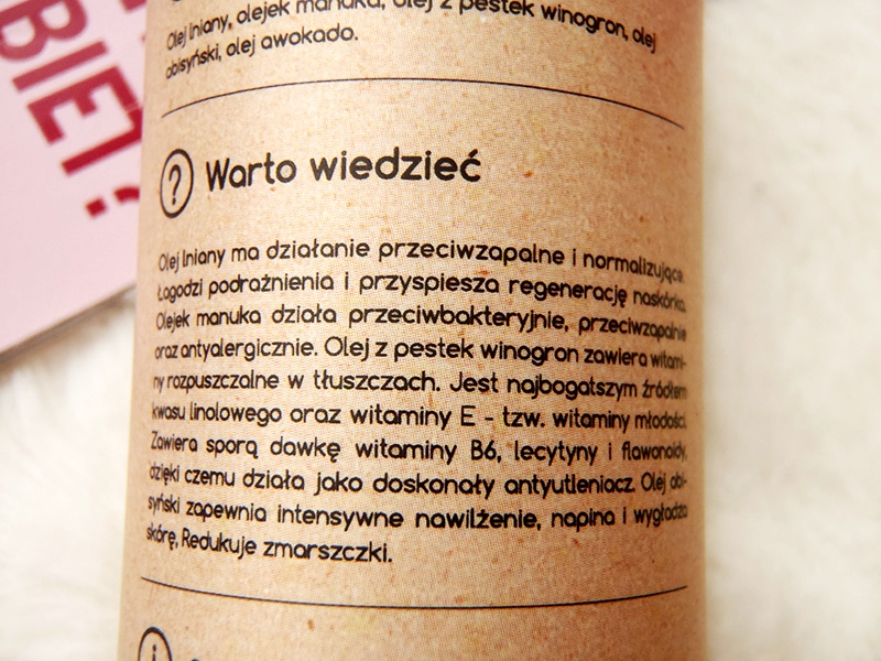 olejek do demakijażu, naturalny olejek, naturalny demakijaż, demakijaż olejami