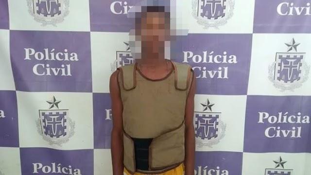 Polícias Civil e Militar agem rápido e prendem suspeito de homicídio, em Brumado