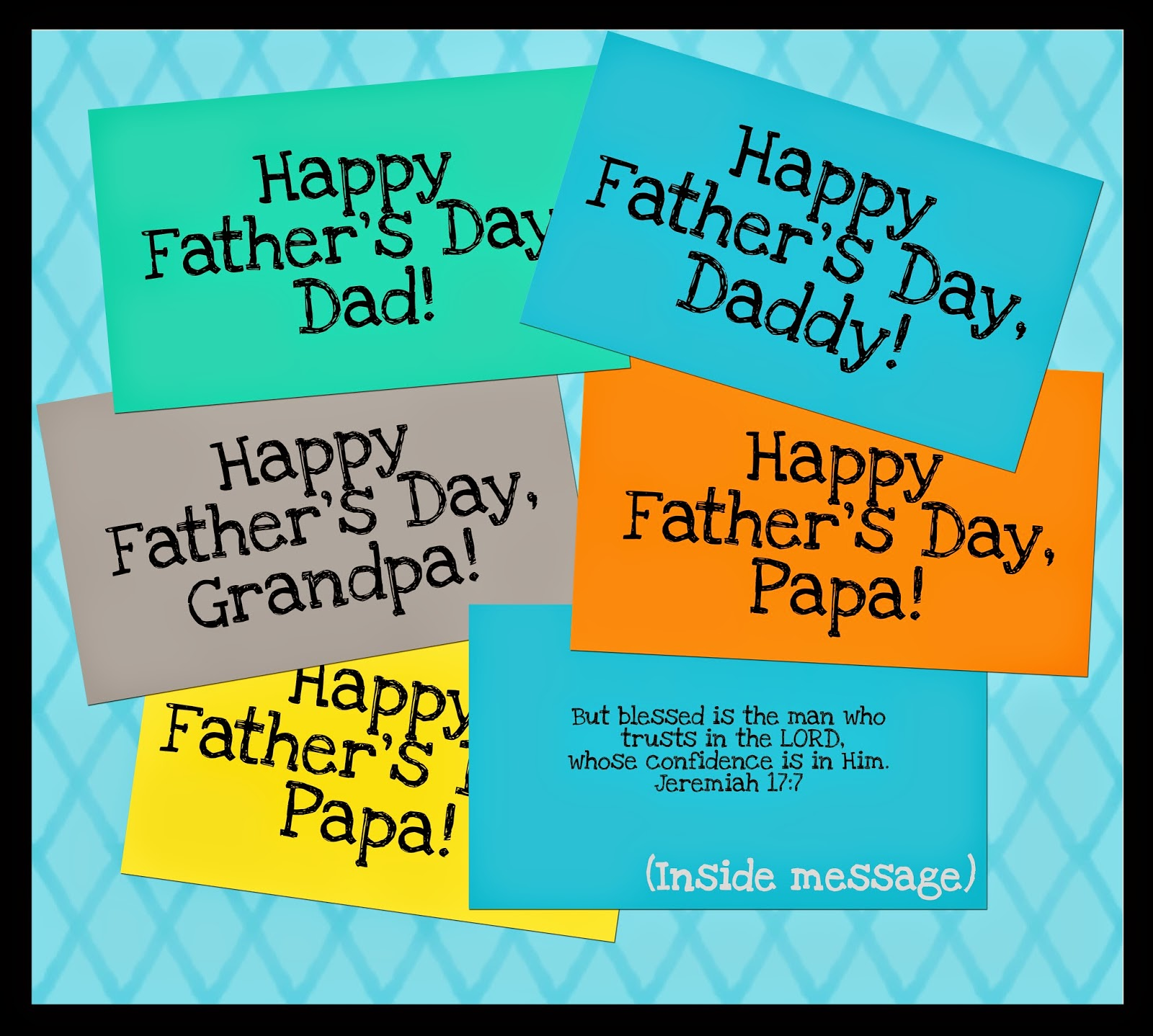 photograph about All About My Papa Printable named Versus the Carriage Household: Uncomplicated Fathers Working day Card Printable