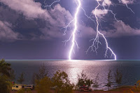 Lightning over Northern Territory