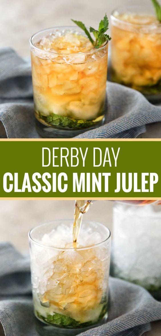 Derby Day Kentucky Mint Julep Recipe