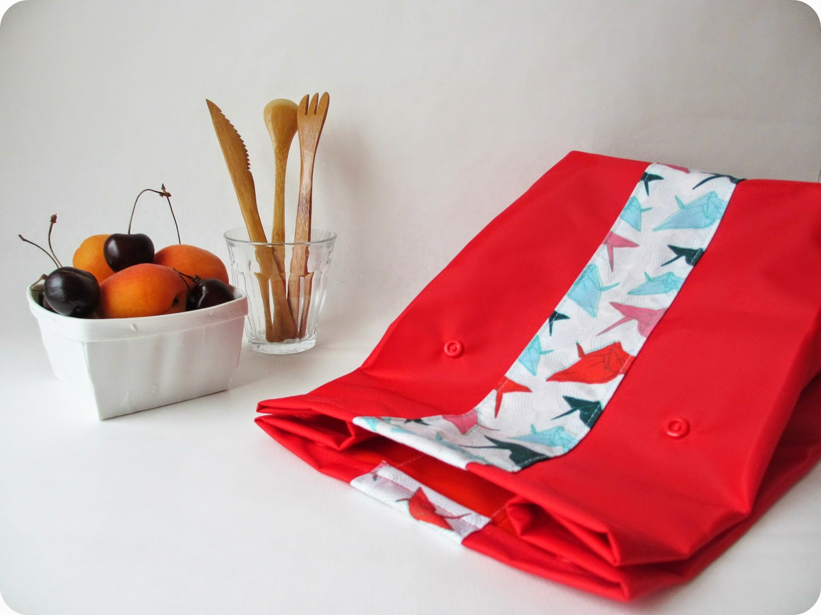Tadaam lunch bag rouge - Madame casse pied ...