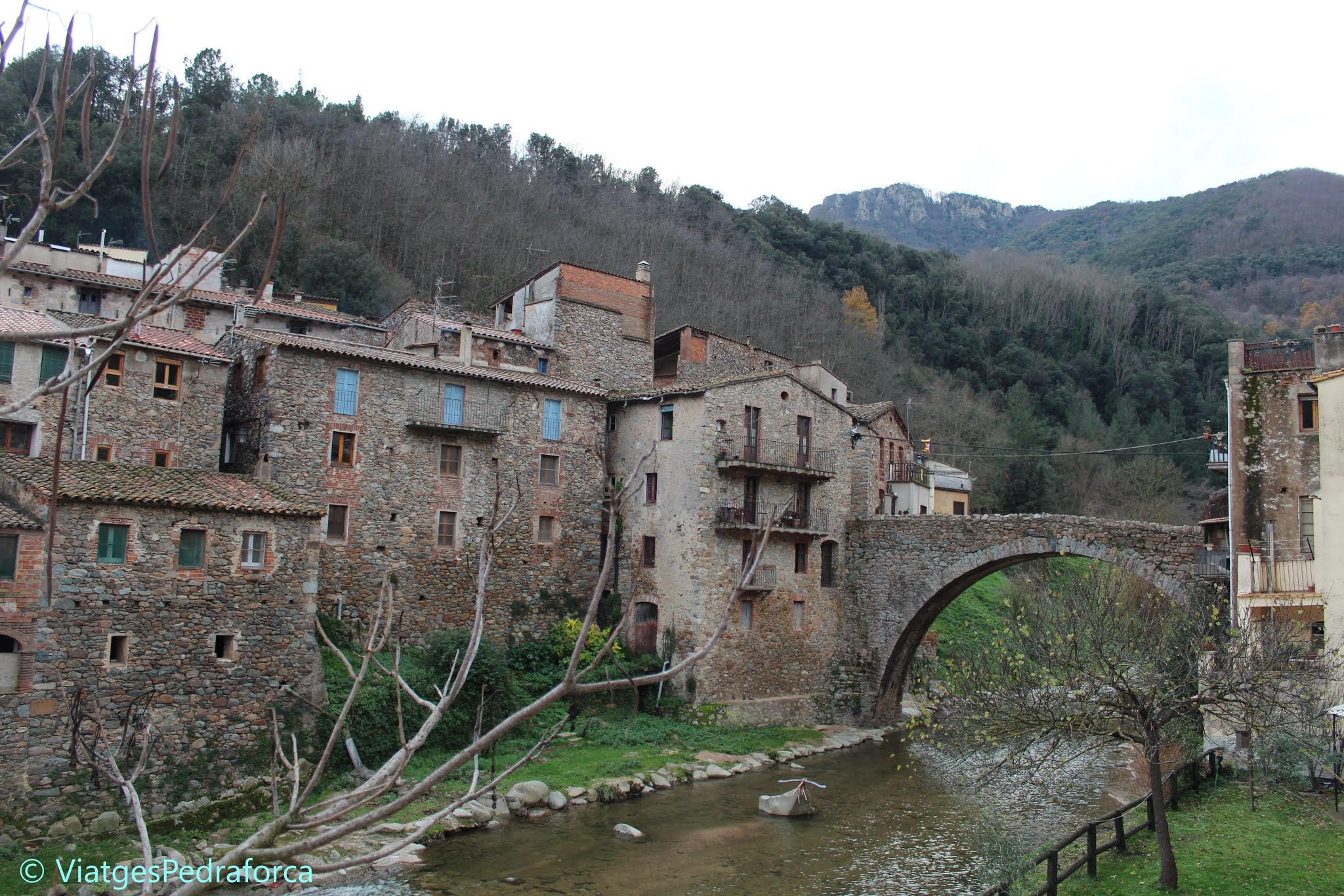 La Selva, Guilleries, Girona, rutes per Catalunya