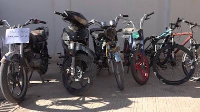 غرداية: الشرطة تطيح بعصابة سرقة الدراجات النارية
