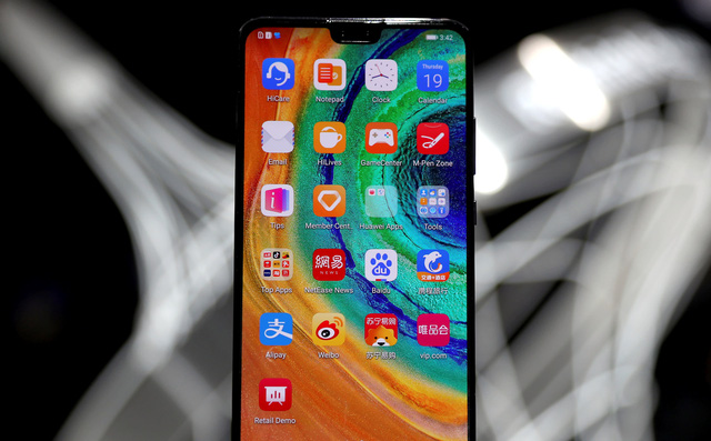 شاهد واندهش.. المكونات الأمريكية في هاتف Huawei Mate 30 هيَّ 1% فقط