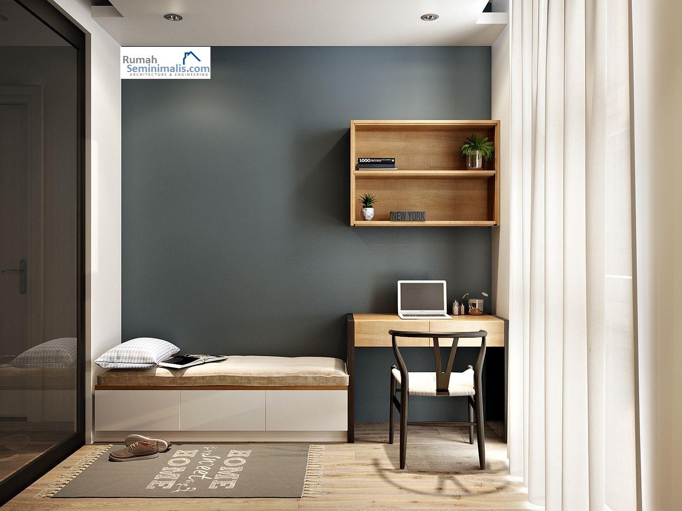 Desain Kamar Tidur Rumah Kayu Sederhana Interior Rumah