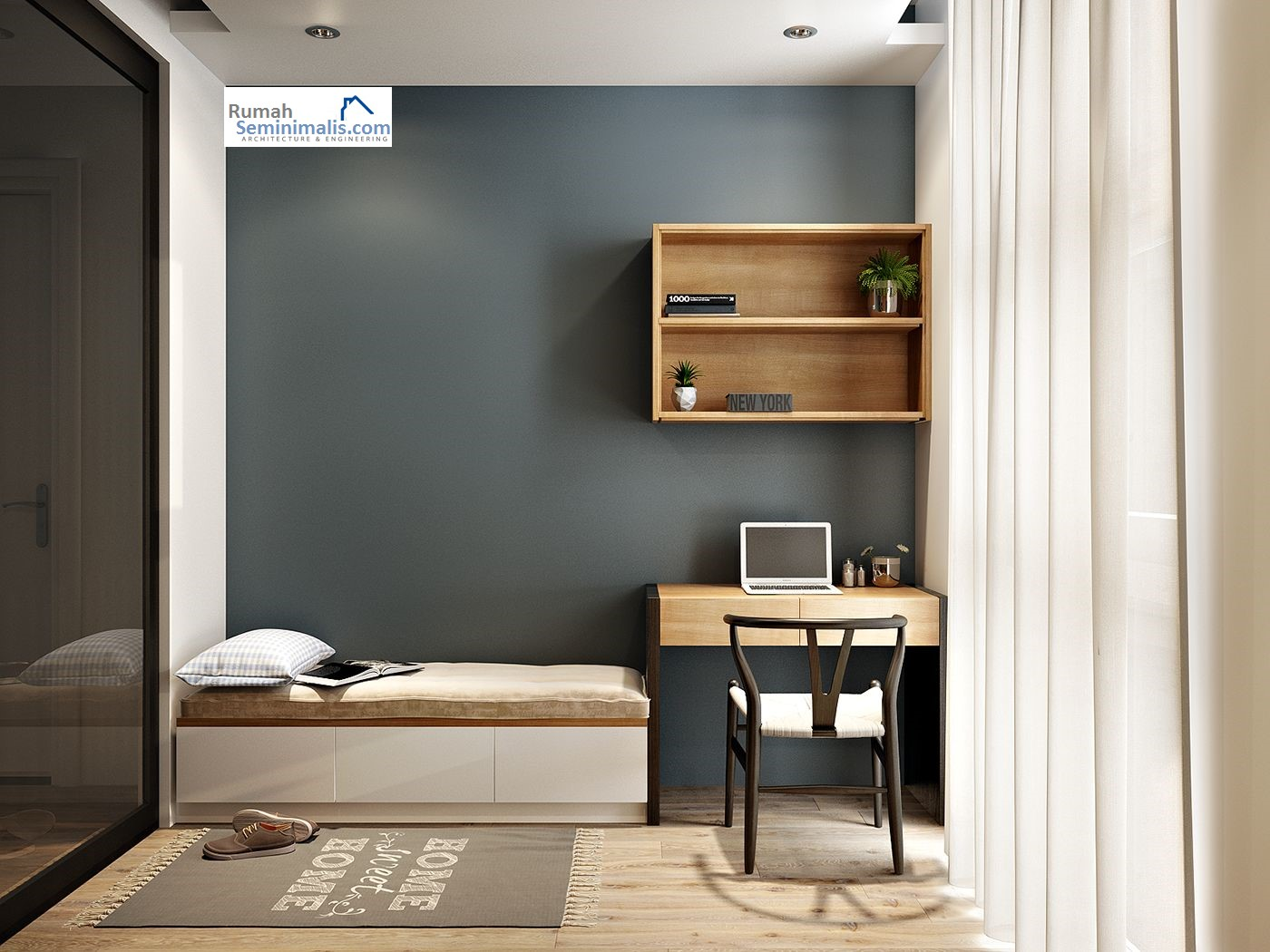 24 desain kamar tidur minimalis sederhana