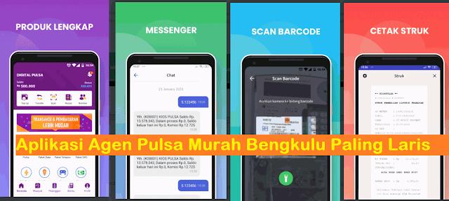 Aplikasi Agen Pulsa Murah Bengkulu Paling Laris, DIgital Pulsa Apk, Digital Mobile Topup