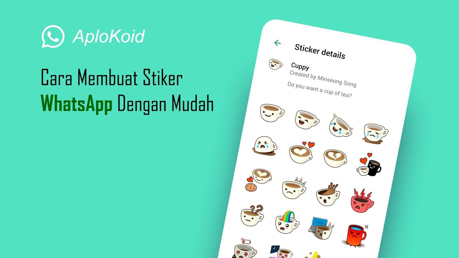 Cara Membuat Stiker WhatsApp Dengan Mudah