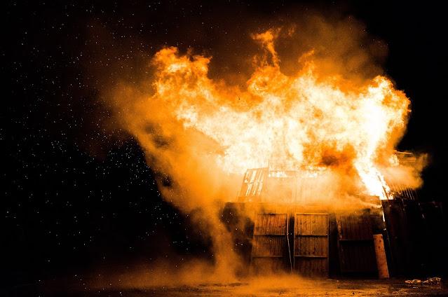 Incendio en el centro OVH