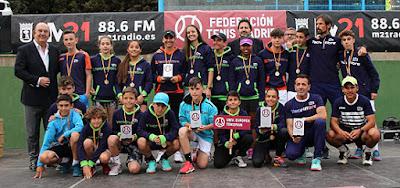 Tenis Aranjuez Liga Juvenil