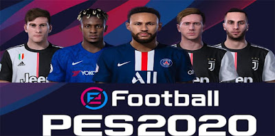 PES 2020 New Facepack by SR