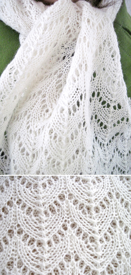 Elegant Lace Scarf - Free Pattern