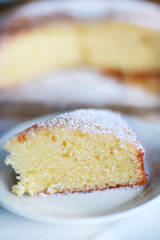Lemon Cake-Simply Magnifique blog