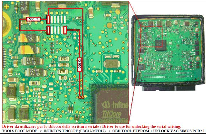 FGTECH Galletto 4 V54 read write VAG BMW ECU what tested OK