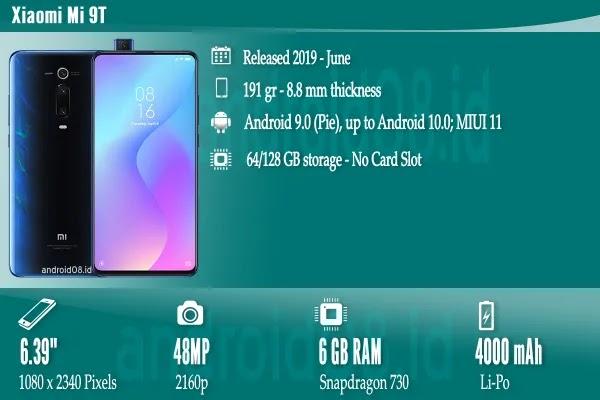 Spesifikasi Xiaomi Mi 9T